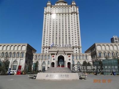 酒店的欧式建筑与中式园林完美结合